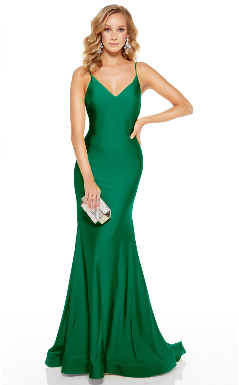 Alyce 60773 Dress Emerald