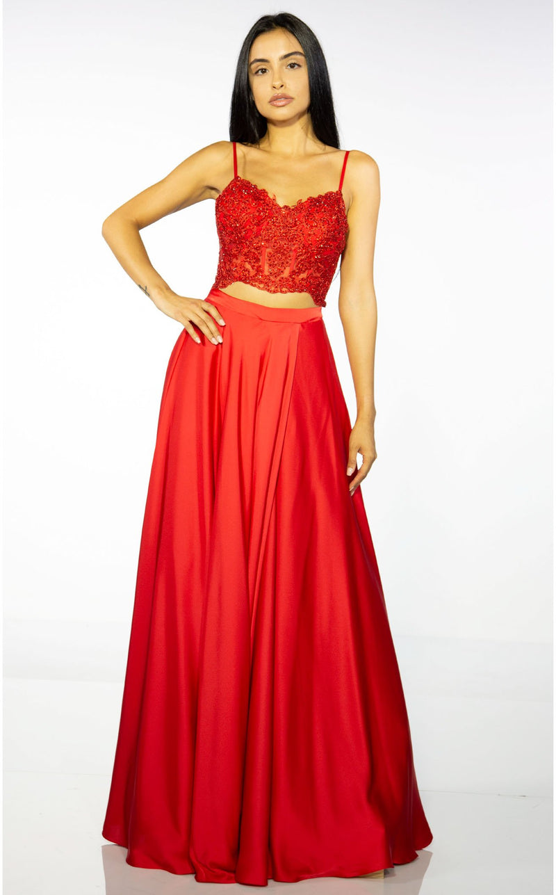 Alyce 60777 Dress Red