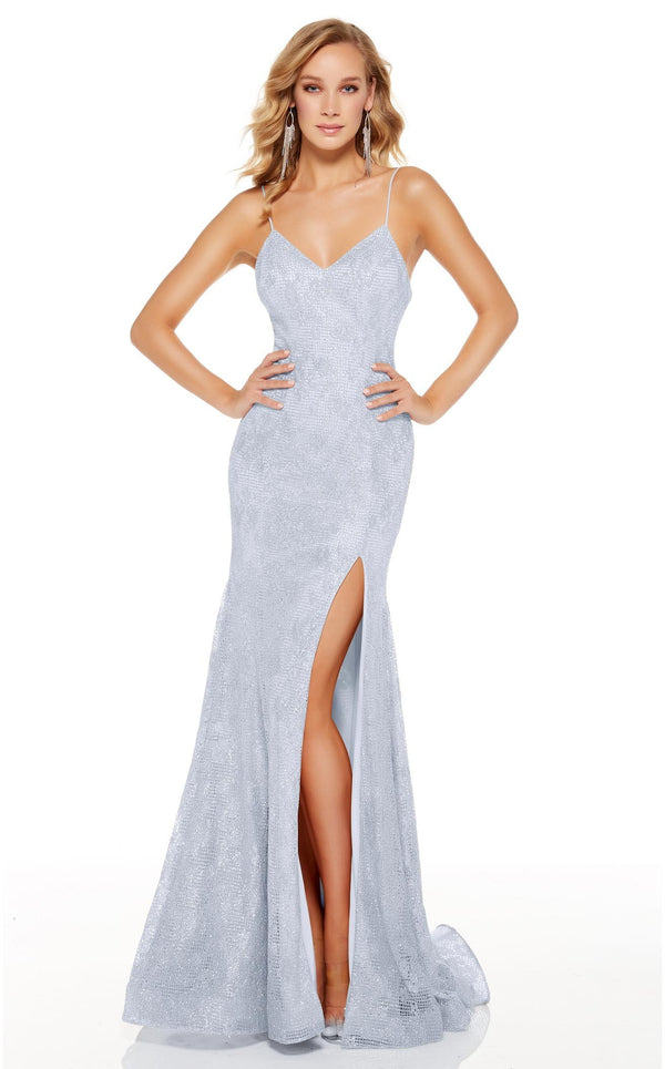 Alyce 60817 Dress Glacier-Blue