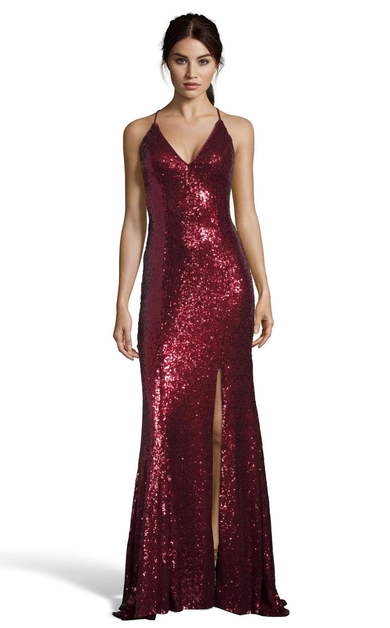 Alyce 60822 Dress Wine
