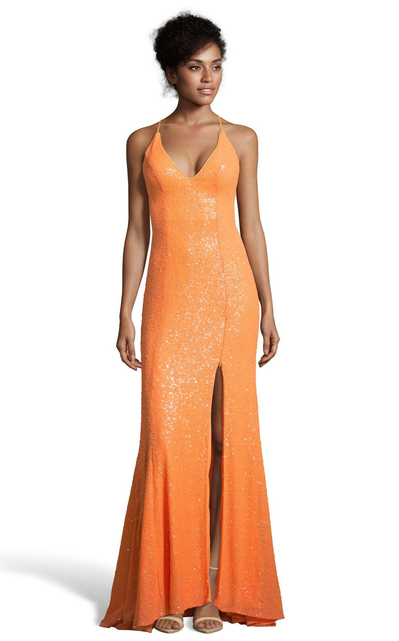 Alyce 60823 Dress Tangerine