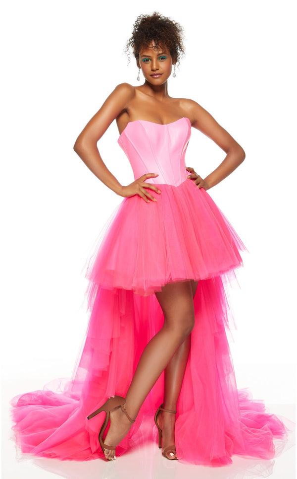 Alyce 60860 Dress Neon-Pink