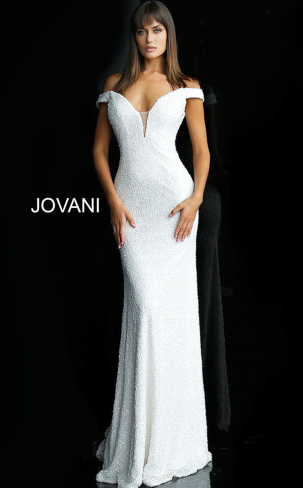 Jovani 61089 Off White