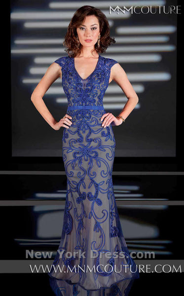 MNM Couture 0168 Blue