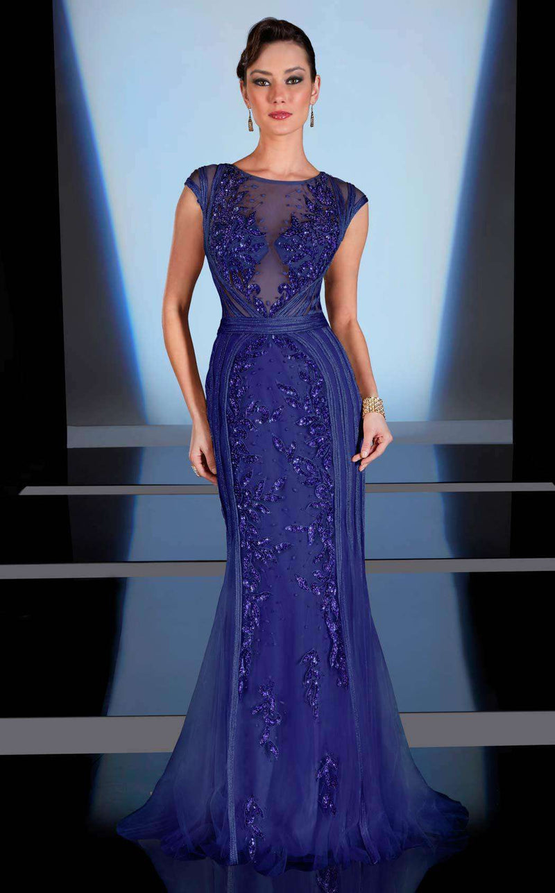 MNM Couture 0428 Royal Blue