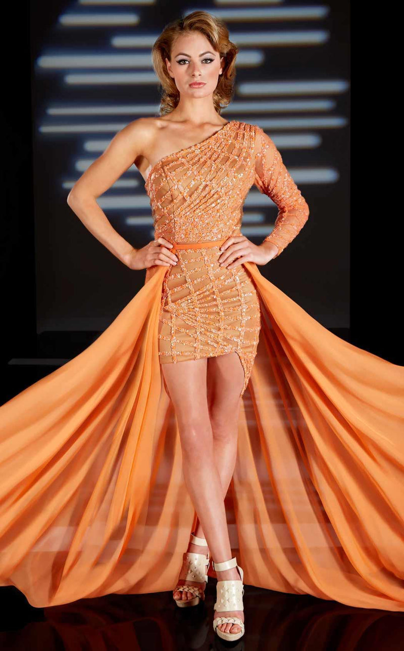 MNM Couture 0431 Orange