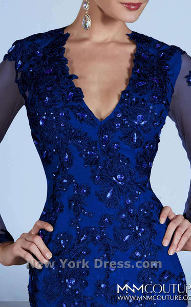 MNM Couture 0437B Royal Blue