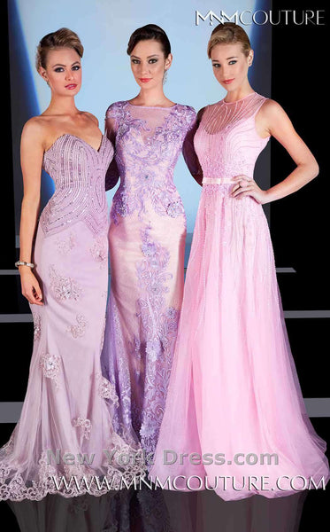MNM Couture 0585 Purple