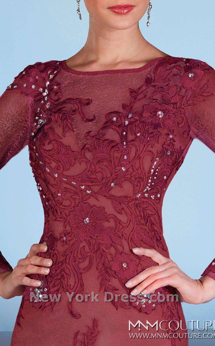 MNM Couture 0585 Burgundy