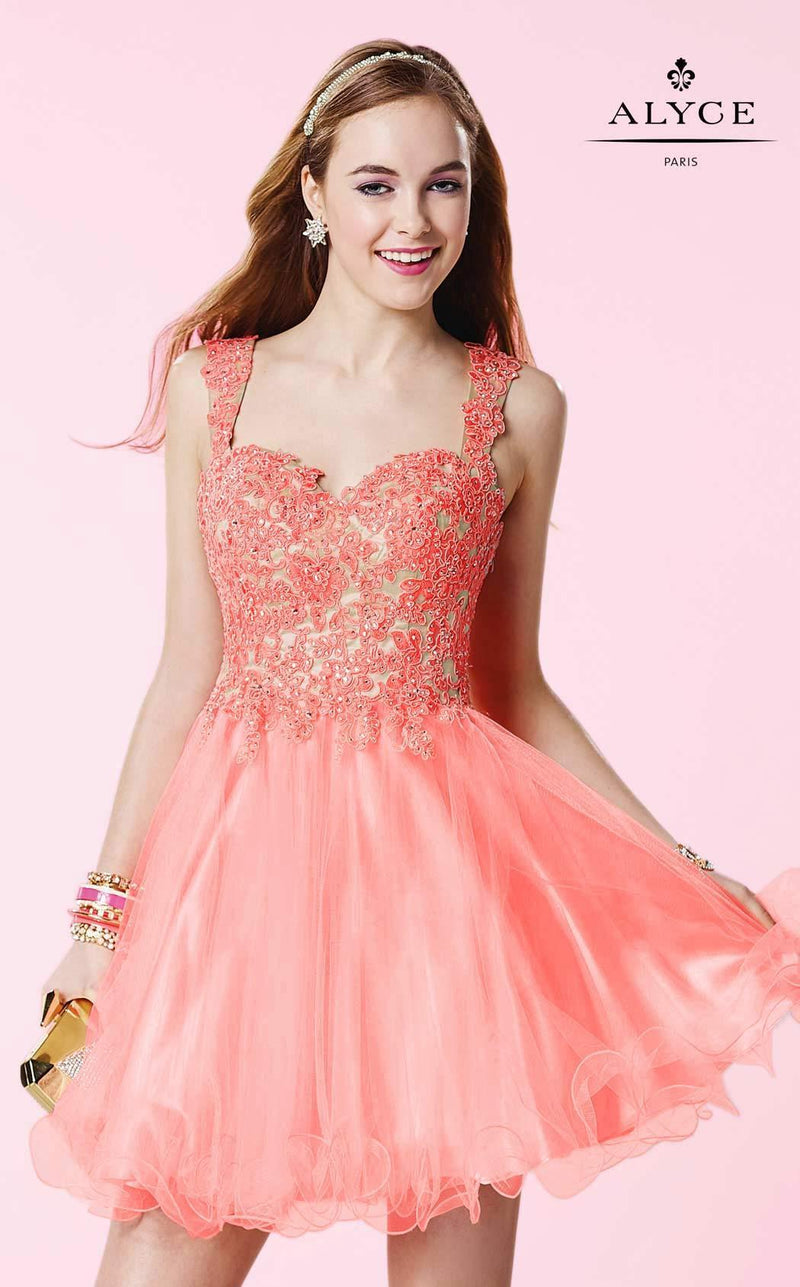 Alyce 3648 Coral