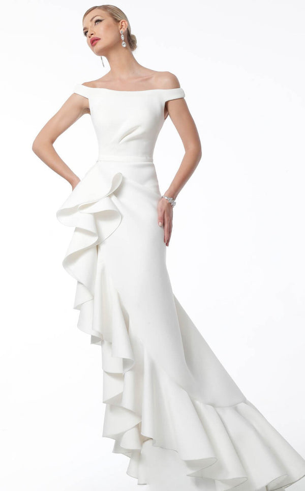 Jovani 63586BG Dress White