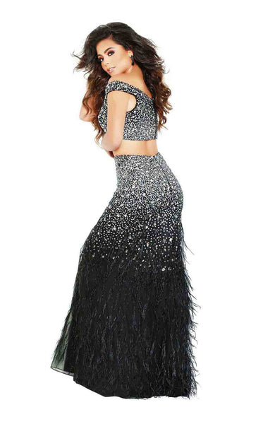 Jasz Couture 6407 Black-Gunmetal