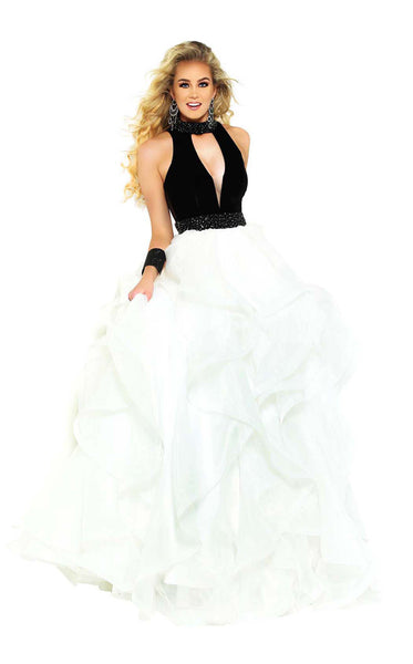 Jasz Couture 6465 Black-White