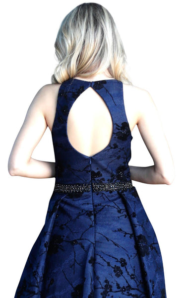 Jovani 66103 Navy-Black
