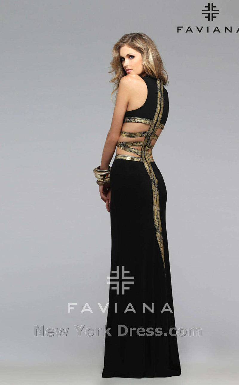 Faviana 7734 Black/Gold
