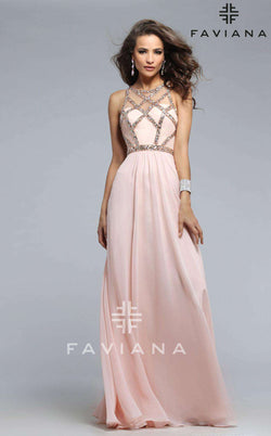 Faviana 7759 Soft Peach