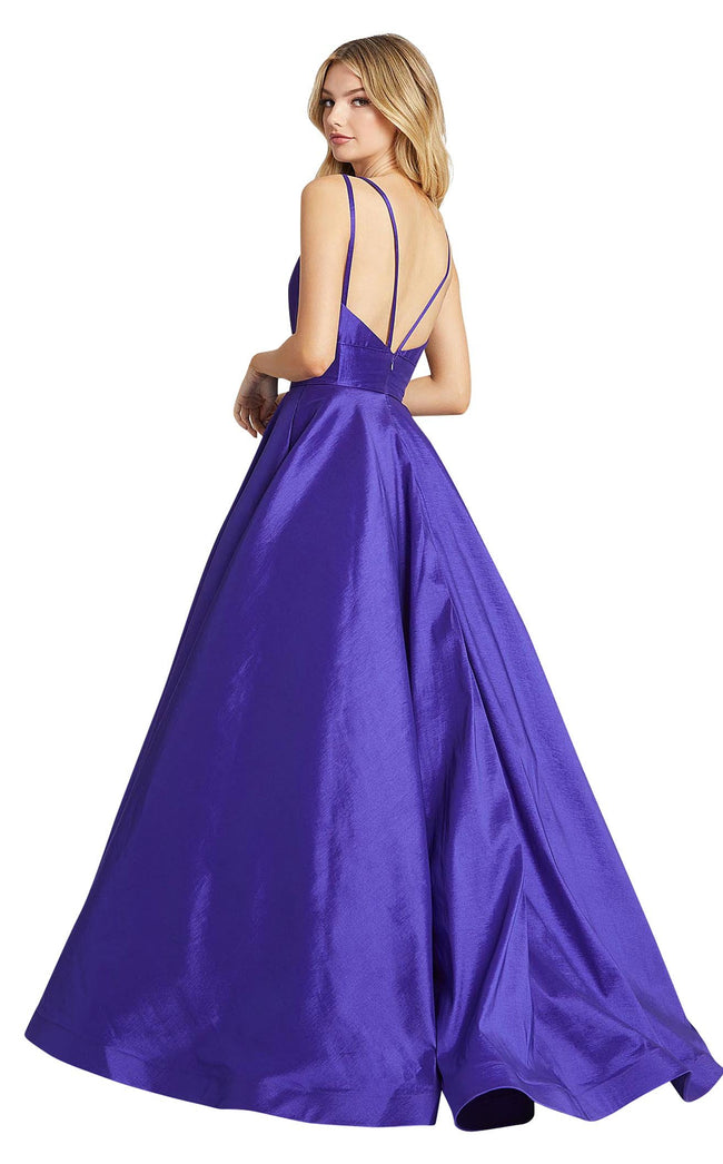Mac Duggal 67100L Royal-Purple
