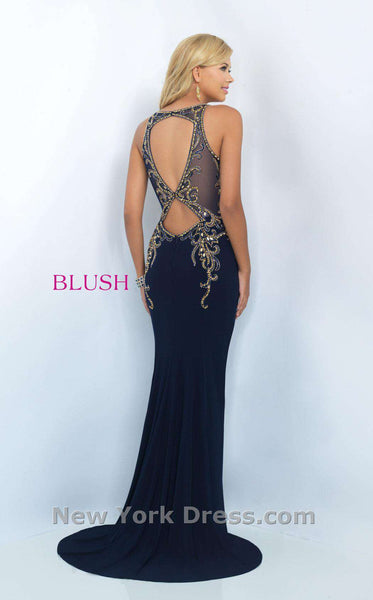 Blush 11038 Navy/Gold