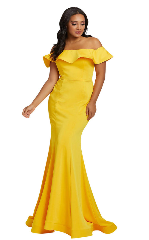 Mac Duggal Fabulouss 67217F Sunshine