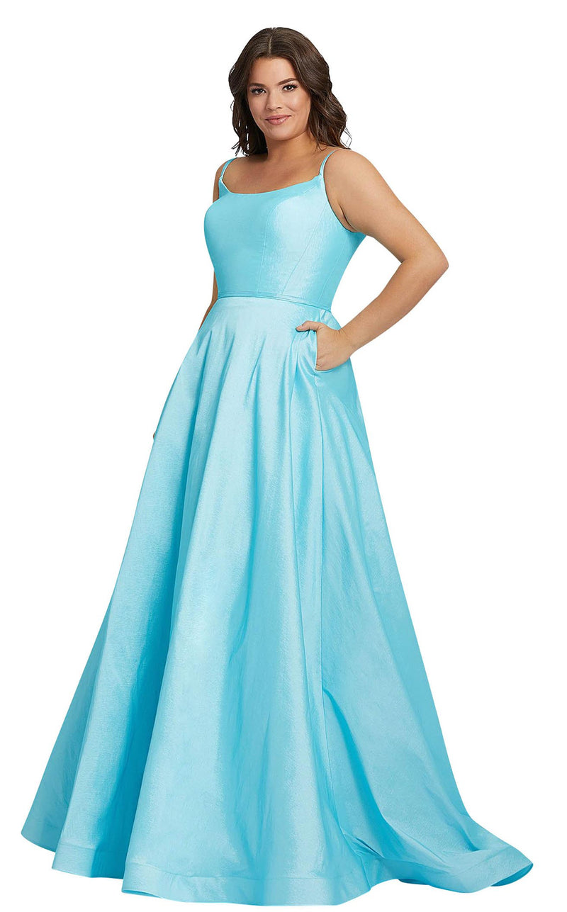 Mac Duggal Fabulouss 67219F Blue