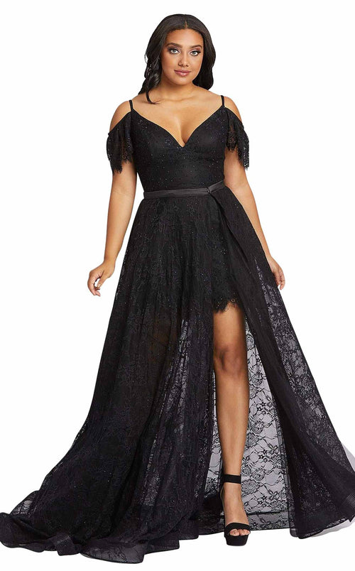 Mac Duggal Fabulouss 67220F Black