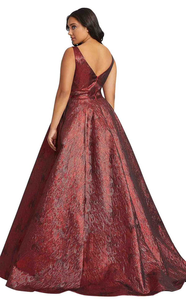 Mac Duggal Fabulouss 67257F Deep-Red