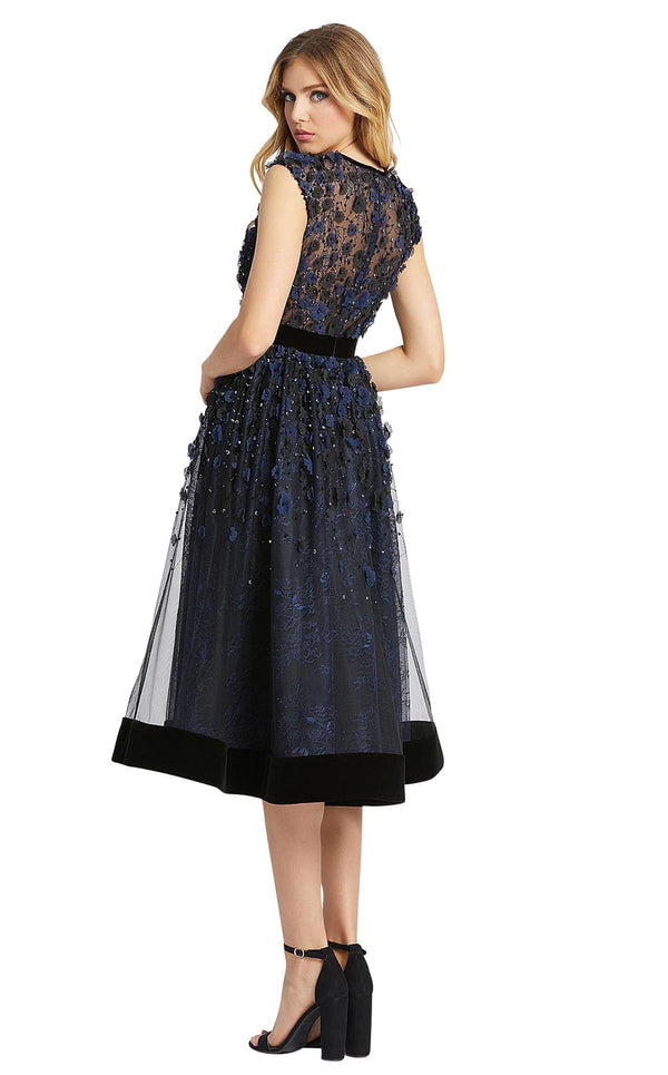 Mac Duggal 67289D Midnight-Black