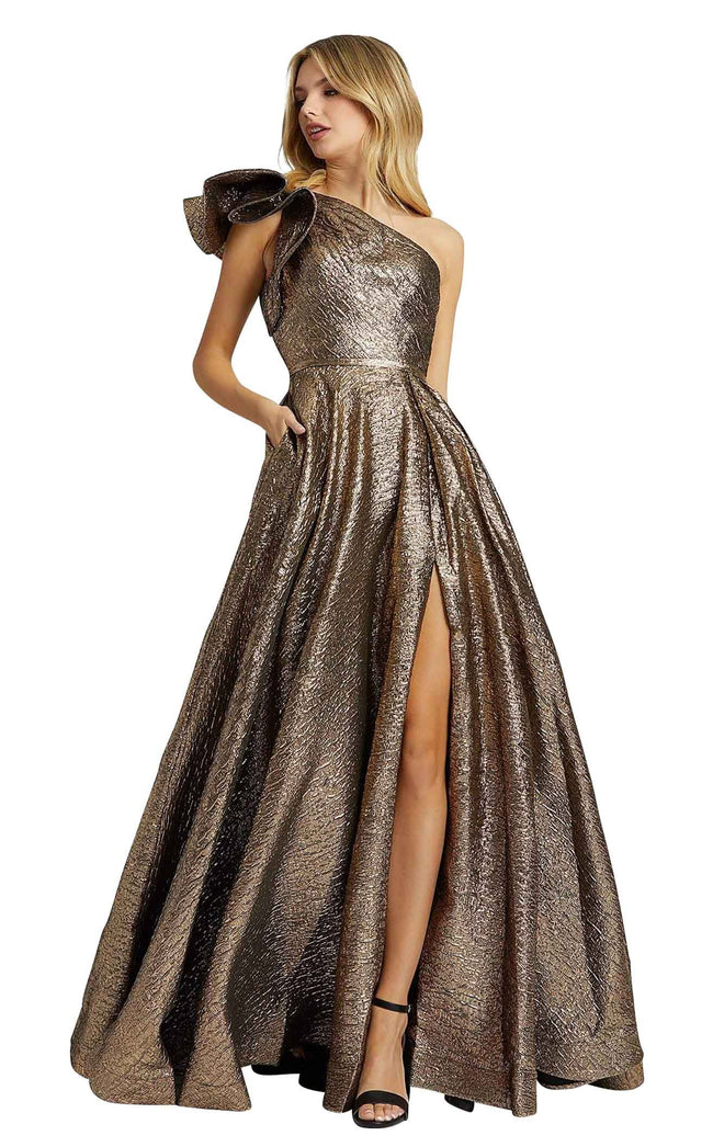Mac Duggal 67297M Antique-Bronze