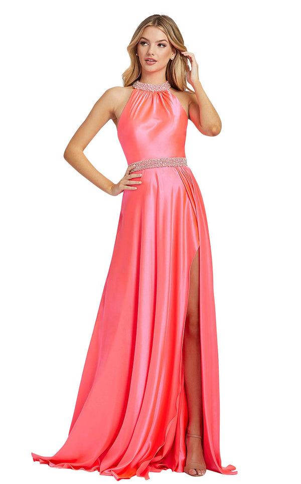 Mac Duggal 67339L Hot-Pink