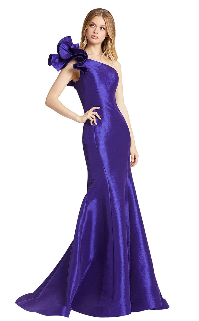 Mac Duggal 67379L Royal-Purple