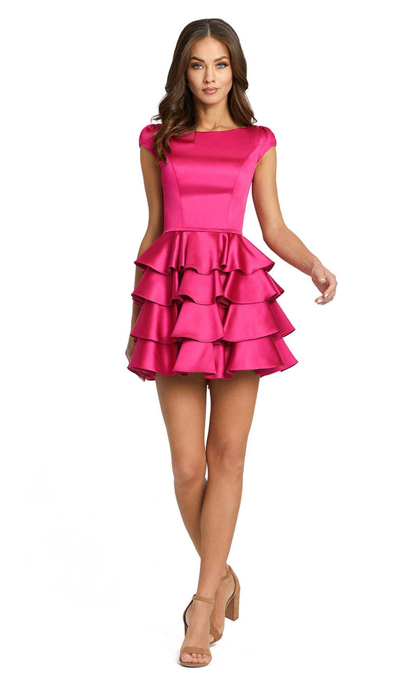 Mac Duggal 67509i Dress Hot-Pink