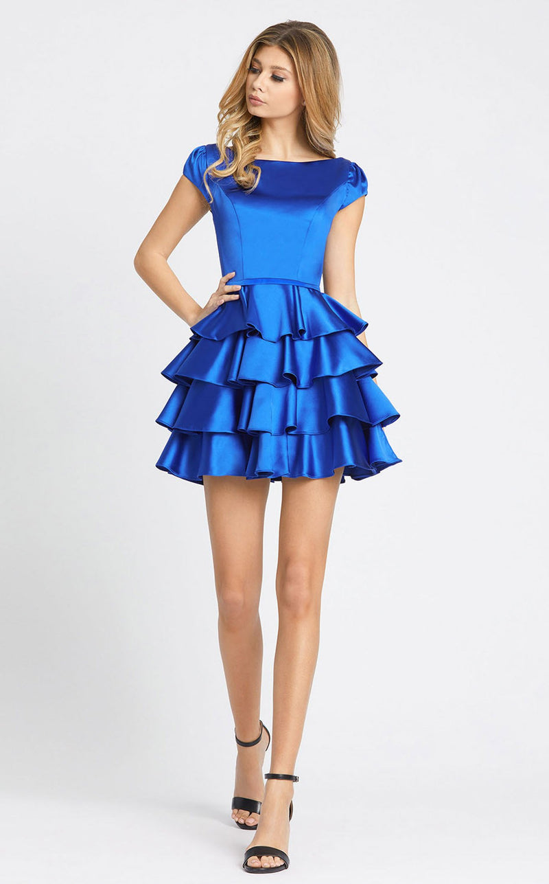 Mac Duggal 67509i Dress Royal-Blue