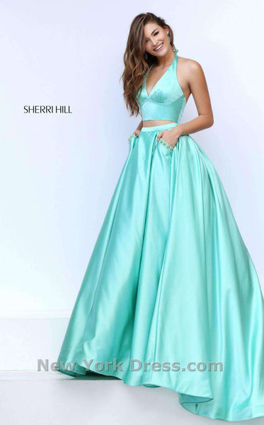 Sherri Hill 50053 Green