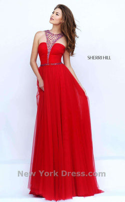 Sherri Hill 50143 Red