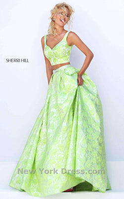 Sherri Hill 50200 Green