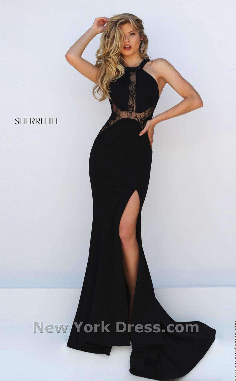 Sherri Hill 50201 Black
