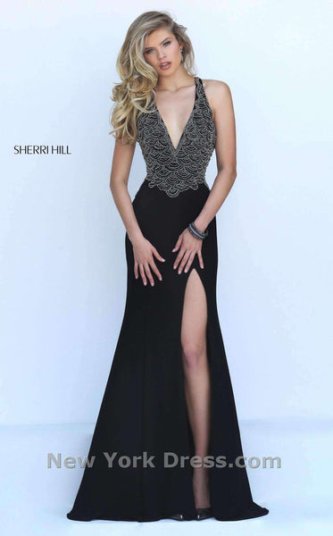 Sherri Hill 50215 Black