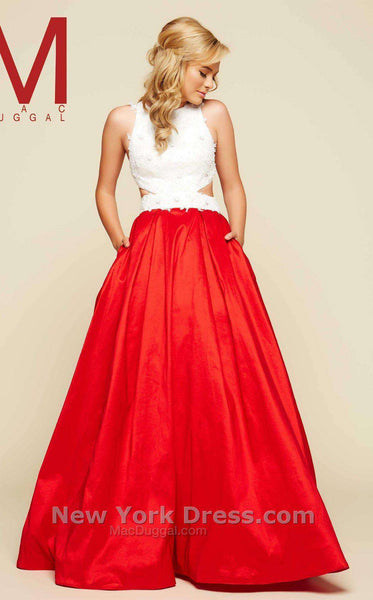 Mac Duggal 48423H Red/White