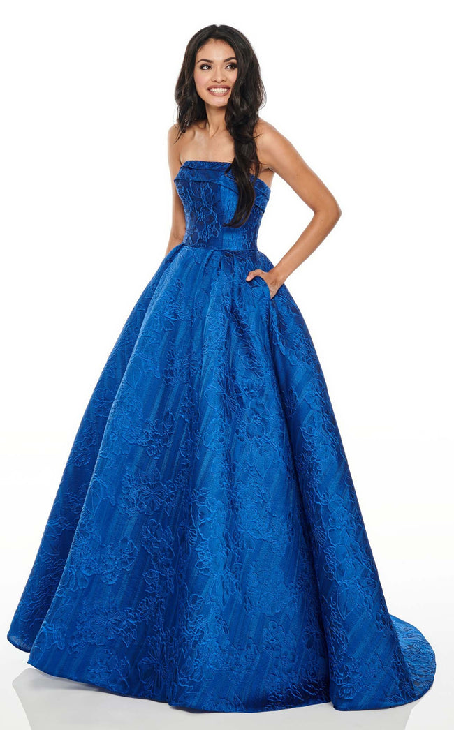 Rachel Allan 7013 Dress Royal