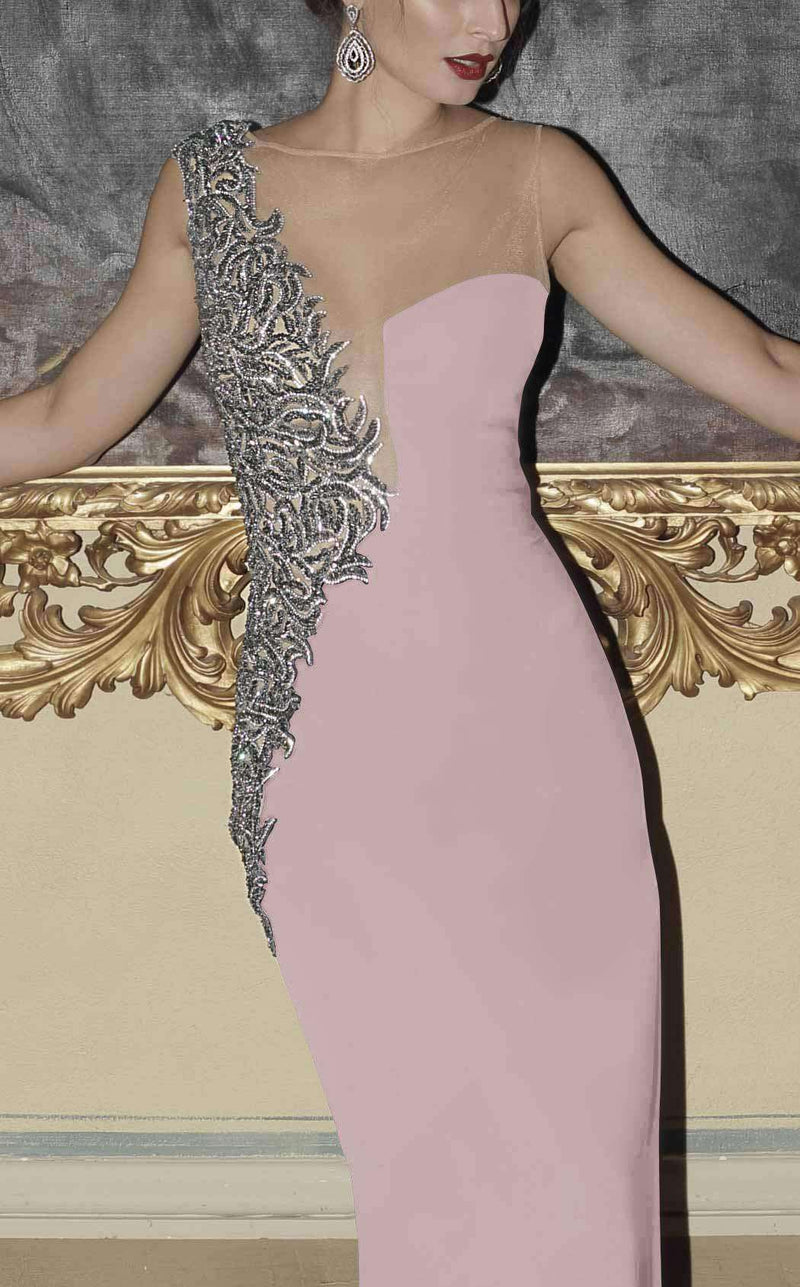 Tarik Ediz 92756 Powder Pink