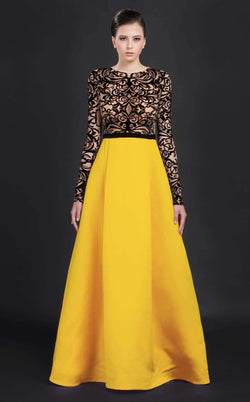 MNM Couture N0056 Yellow