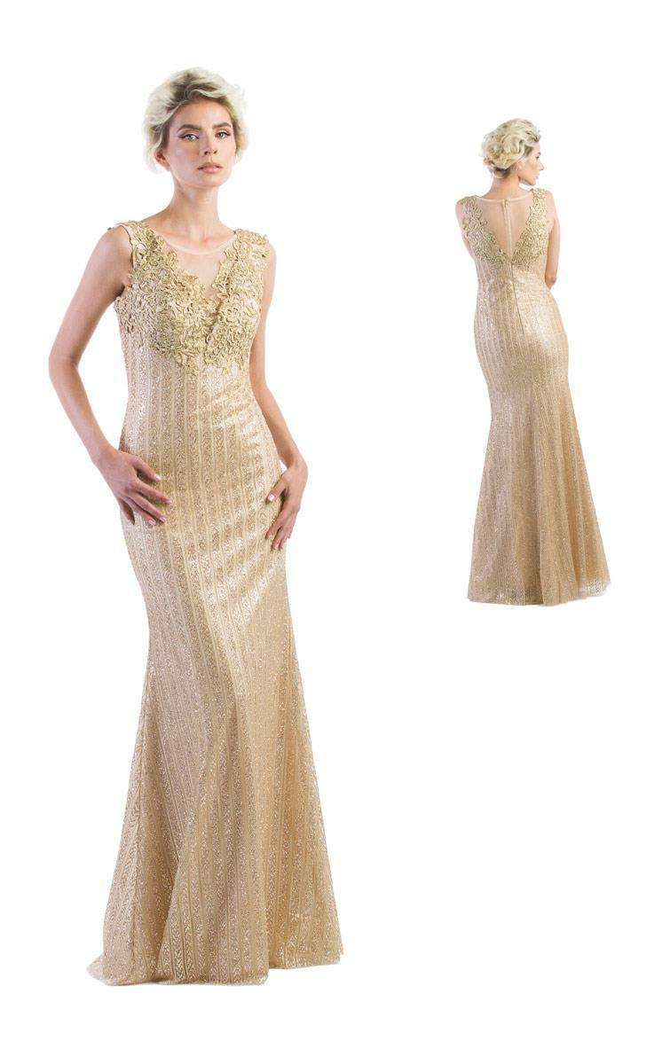 Black Label Couture 2231 Gold
