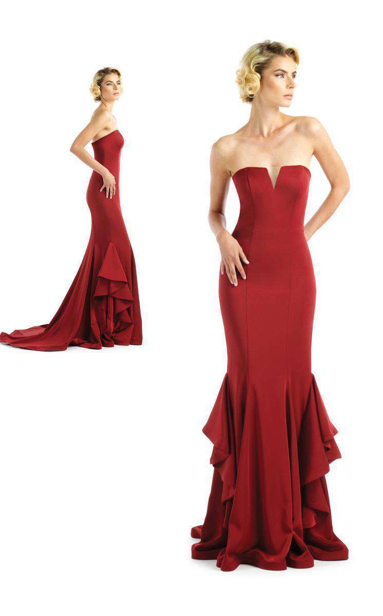 Black Label Couture 2259 Burgundy