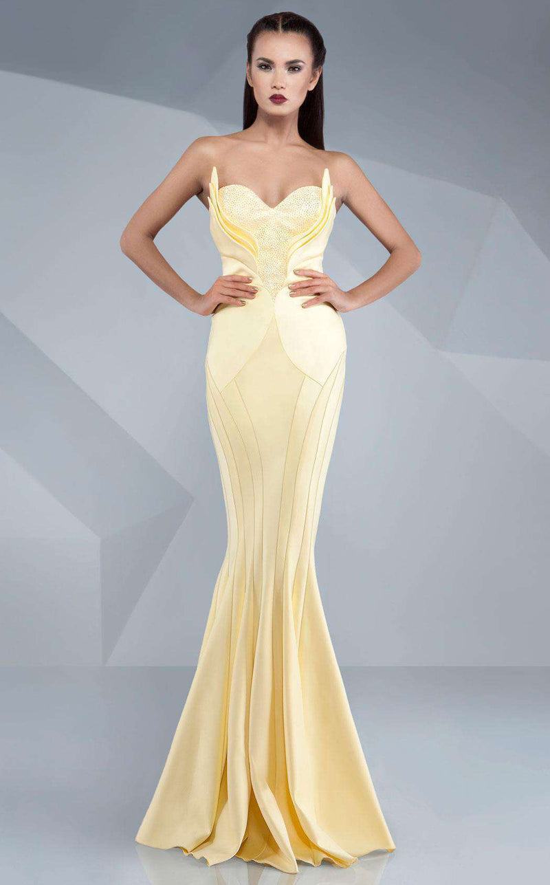 MNM Couture G0511 Yellow
