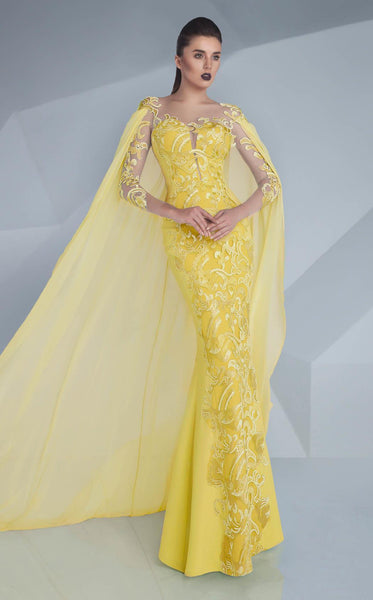 MNM Couture G0603 Yellow