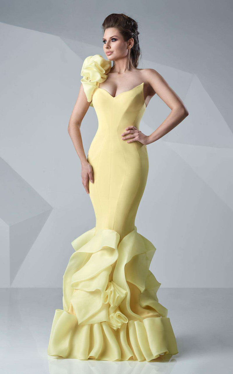 MNM Couture G0629 Yellow