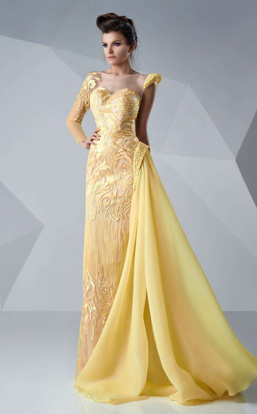 MNM Couture G0652 Yellow