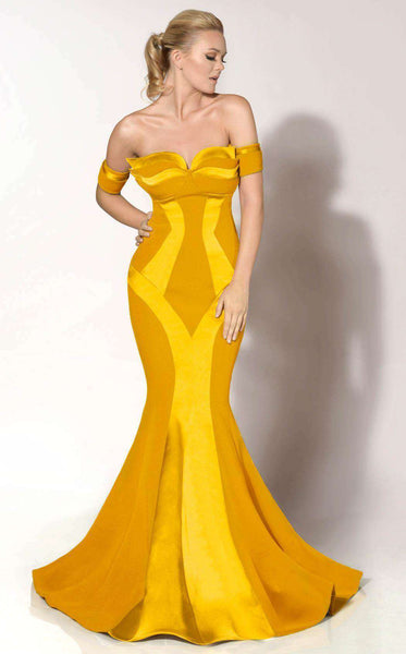 MNM Couture 2276 Mustard