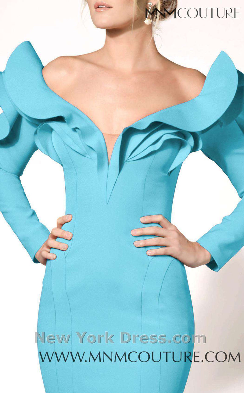 MNM Couture 2285A Blue