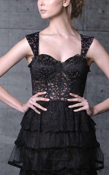 MNM Couture N0100 Black